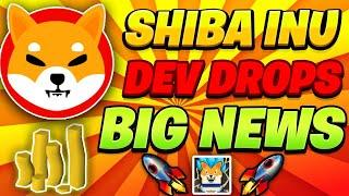 SHIBA INU TOKEN: LEAD DEVELOPER DROPS A BOMBSHELL! THE UPDATE WE'VE BEEN WAITING FOR! SHIB NEWS !