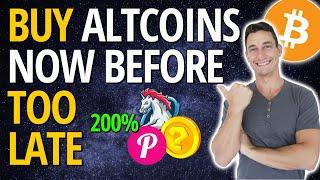 IS ALTCOIN SEASON HERE? | TOP 3 CRYPTOS TO WATCH 2021 (Don't Miss 10X Gains!)