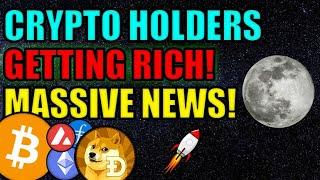 Cryptocurrency Holders are GETTING RICH! MAJOR NEWS for ETHEREUM, BITCOIN, FILECOIN, & DOGE!