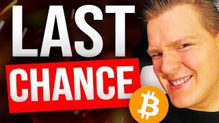 BITCOIN HAS TO BOUNCE NOW!!!! THIS IS VERY CRITICAL.... [Time Sensitive]