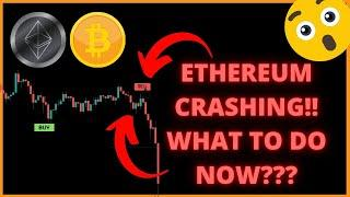 ETHEREUM LIVE  ETHEREUM CRASH, BITCOIN LIVE News and Technical Analysis LIVE SHOW