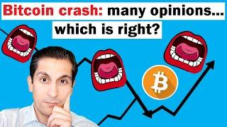 Bitcoin Crash: So Many Opinions but Which is Right?