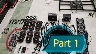 How To Build Crypto GPU Mining Rig | Step By Step | PHILIPPINES | Rebuild Part 1