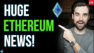 LIVE: This is GREAT news for Ethereum!