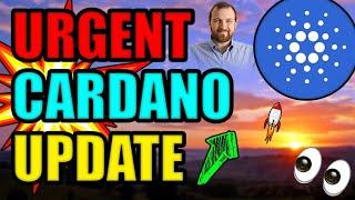 CARDANO is about to EXPLODE in SPRING! URGENT Cardano News Update (TOP Reason ADA Price ERUPTs 2021)