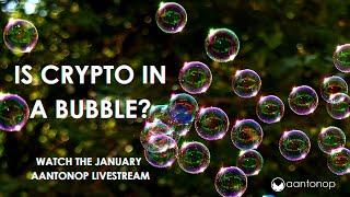 Is bitcoin in a bubble? Cryptocurrency taxes? Stablecoins? Jan Q&A Livestream - aantonop