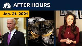 Bitcoin Leads $100 Billion Crypto Sell-off As Biden Becomes President: CNBC After Hours