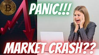Bitcoin BTC News!!! End Of The Bull Run?? Market Crash? Technical Analysis & Price Predictions