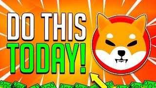 SHIBA INU COIN HOLDERS IT'S TODAY! CEO HUGE BOMBSHELL! ! - SHIB PHASE 2 EXPLAINED