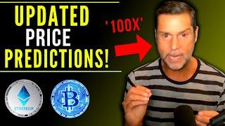 Raoul Pal I Updated my Bitcoin And Ethereum PRICE PREDICTION   31 August, 2021 (Supply Shortage)