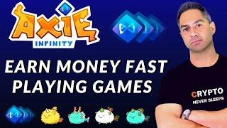 Axie Infinity - PLAY GAMES TO EARN MONEY - BEST CRYPTO GAME - Axie Infinity Price Prediction