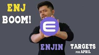 ENJIN COIN - Continuation or Breakdown?    ENJ April Price Targets    Get Rich With Crypto