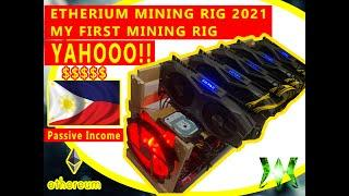 MY FIRST ETHEREUM MINING 2021 (Minerong Pinoy!) Passive Income