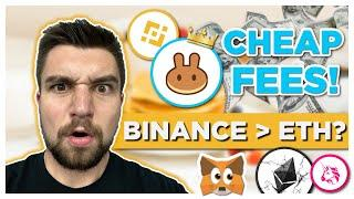 Make MORE MONEY with Binance Smart Chain instead of Ethereum for DeFi due to FEES