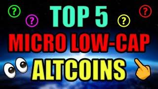 Top 5 MICRO LOW CAP ALTCOIN GEMS (MOON POTENTIAL) JUNE 2021! Best Cryptocurrency Projects!