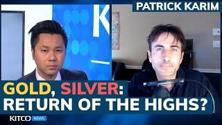 $50 silver price, $2,300 gold are next, but not before this happens first – Patrick Karim