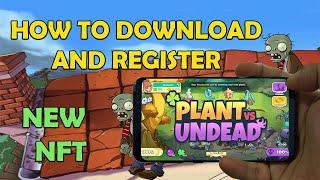 Plant vs Undead Download and Register in Mobile Phone (Tagalog)