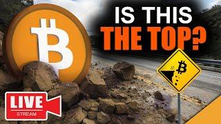 Bitcoin News Today: Is The Bull Run Over? ($42k The TOP!?)