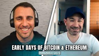 Early Days of Bitcoin & Ethereum   Anthony Di Iorio   Pomp Podcast #524
