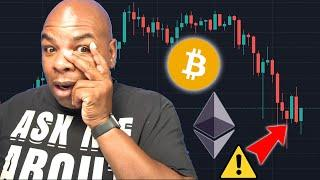 BITCOIN & ETHEREUM ARE DROPPING, WHERE IS THE BOTTOM?!!? [how to trade it now]