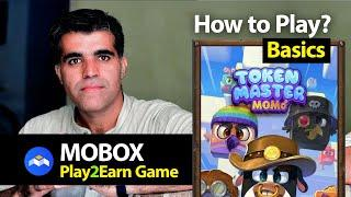 How to Play Mobox Master Token Earn to Play Free Game MBox Blockchain Crypto Games in Hindi