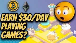 Top 5 Crypto NFT Games   Play to Earn Crypto Blockchain Games
