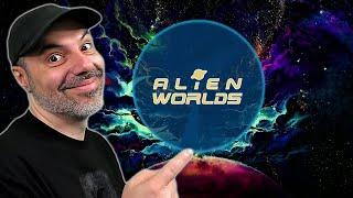 Im EARNING $20+ A DAY Playing a Free Game - Alien Worlds (Play to Earn NFT Blockchain Game) OUTDATED