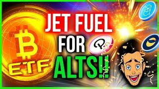WILL THE FIRST BITCOIN ETF BLOW UP ALTCOINS??