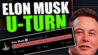 BREAKING: ELON CHANGED HIS MIND? NOT SELLING BITCOIN?