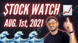 *Exclusive* Sunday Stock Watch: July 25th, 2021 - Crypto, EV's and Earnings!