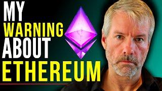 Michael Saylor: My WARNING about Ethereum   Michael Saylor on ETH 2.0 & Ethereum Price Prediction