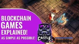 Blockchain Games Explained | What are NFT Games? Ethereum & Enjin NFT Play to Earn Examples