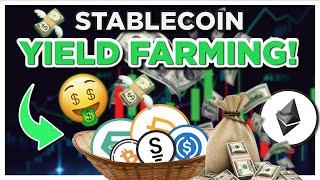 Stablecoin Yield Farming and Arbitrage Trading DeFi Platform