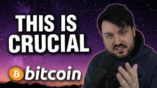 This is CRUCIAL for Bitcoin! - And The TRUTH About Alt Season