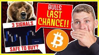 BITCOIN'S LAST CHANCE TO SHOW STRENGTH! (3 REASONS WHY IT MATTERS)