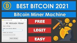 NEW BITCOIN MINER MACHINE SOFTWARE   DOWNLOAD 2021   MINING CRYPTO ON PC