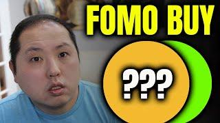 I FOMOED INTO THESE TWO ALTCOINS!!!
