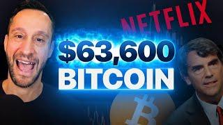 BITCOIN'S NEXT STOP: $63,600? | Charting & Crypto News w/Scott Melker