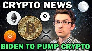 CRYPTO NEWS - Biden Will Pump Crypto, Cardano Africa, Institutions Buying