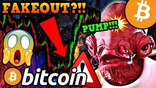 BITCOIN PUMPING!!!!! TREND REVERSAL or TRAP?!!! What You NEED to KNOW NOW!!!!!!