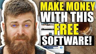 MAKE MONEY WITH THIS NEW FREE SOFTWARE   HOW TO MAKE MONEY ONLINE