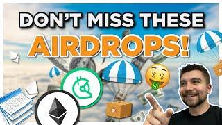 Latest FREE Crypto Airdrops -- Making Money W/ DeFi on Ethereum and BSC!