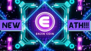 ENJIN COIN makes NEW ATH!!! - TECHNICAL ANALYSIS and PRICE PREDICTION!!!
