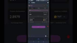 How to Buy and Sell TMT on Uniswap Exchange
