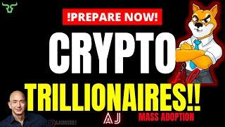 ONE TRILLION DOLLARS To Be Pumped Into Crypto, But Why Does This Mean $96,500 THIS Year?!