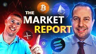 BTC holds CRUCIAL support! What are hash rates? DEXs surging   The Market Report w/ Gareth Soloway