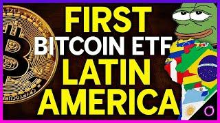 Outstanding Bitcoin ETF successfully launches in Latin America