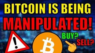 URGENT: BITCOIN MANIPULATION!!! IGNORE THE FUD! Bitcoin $75k by April 1! Cryptocurrency News!