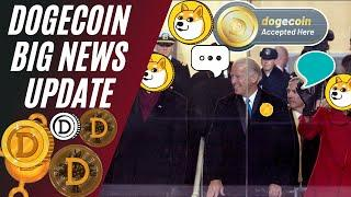 BIDEN JUST SAID THIS ABOUT DOGECOIN! DOGECOIN NEWS TODAY | TECHNICAL ANALYSIS