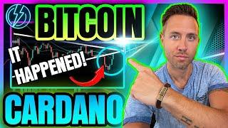 BITCOIN & CARDANO WITH A SHOCKING BOUNCE (Are The Bulls Back?)